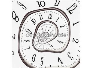 Фотообои «Абстрактные часы до бесконечности»