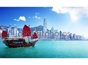 Фотообои «Гонконский пейзаж»