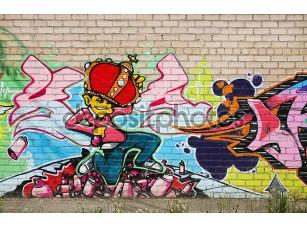 Фотообои «Граффити на стенку»