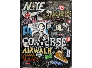 Фотообои «городского коммерческого искусства и граффити»