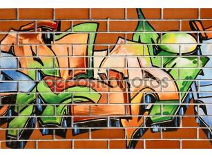 Фотообои «Граффити живопись»