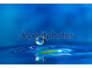Фотообои «красочные и творческие водные создания снижения»