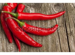 Фотообои «Красные горячие перцы чили»