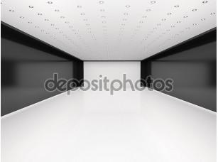 Фотообои «3D иллюстрации абстрактный пустая комната»