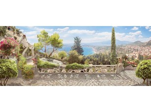 Фотообои «Вид на курорт с террасы»