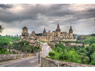 Фотообои «Kamianets-Podilskyi Castle. HDR image. Ukraine»
