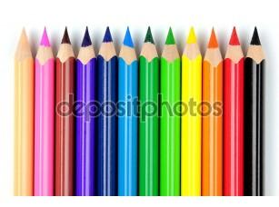Фотообои «Color pencils»