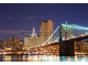 Фотообои «Brooklyn Bridge, New York City Manhattan»