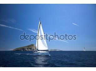 Фотообои «Luxury yachts.»
