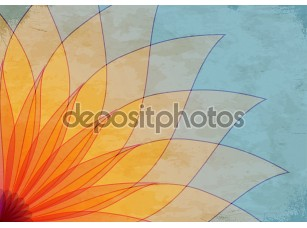 Фотообои «Abstract background with petals»