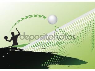 Фотообои «Table tennis»