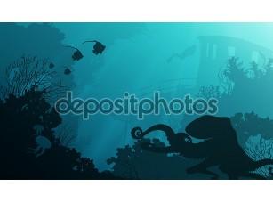 Фотообои «Underwater»