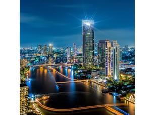 Фотообои «Bangkok night view»