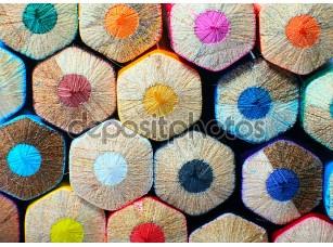 Фотообои «Colored pencils»