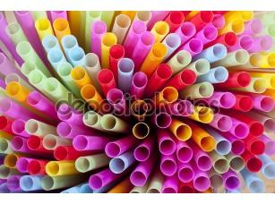 Фотообои «Colorful of straw»