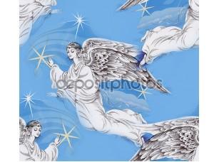 Фотообои «Ангелы в небе Рождество»