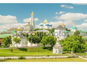Фотообои «Троице-Сергиева - монастырь в Сергиев Посад Лавра»