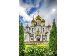 Фотообои « Nicholas convent  Cathedral Russia Pereslavl Zaleski»