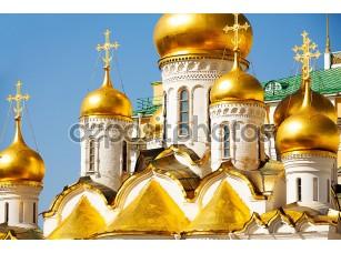 Фотообои «Купола собора Благовещения Пресвятой Богородицы»