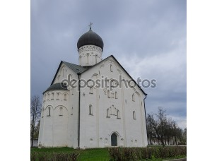 Фотообои «Старая Русская Православная Церковь Преображения на Ильина и»