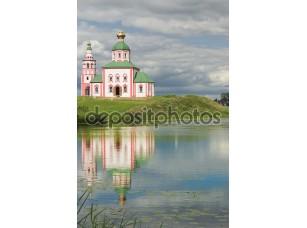 Фотообои «Русская православная церковь в Суздале»