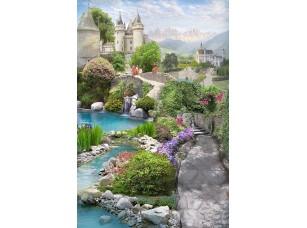 Фотообои «Дорога к замку»