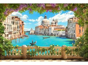 Фотообои «Вид на Венецию с террасы»