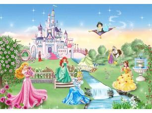 Фотообои «Для девочек - принцессы и замок»
