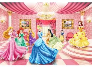 Фотообои «Для девочек - принцессы на балу»