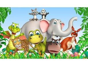 Фотообои «Group of  wild animal»