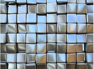 Фотообои «Абстрактный узор площади металлических изделий»
