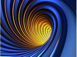 Фотообои «Абстрактный таинственный вихрь»