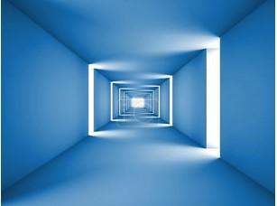 Фотообои «абстрактный тоннель синий»