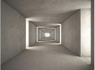 Фотообои «абстрактный тоннель беж»