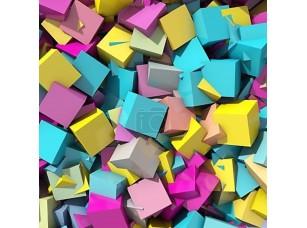 Фотообои «Абстрактный фон геометрических разноцветных»