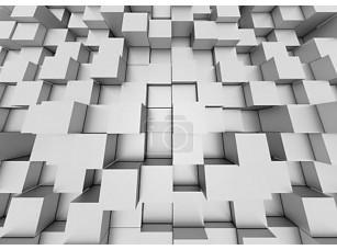 Фотообои «3d фон абстрактный мозаика кубы»