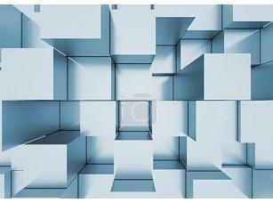 Фотообои «абстрактный мозаичный фон серо-голубой»