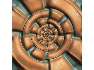 Фотообои «Luxury seamless tile with embossed pattern on leather»