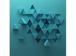 Фотообои «Абстрактный фон из треугольников»