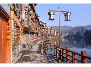 Фотообои «Fenghuang, China - FEB 27, 2016: The Old Town of Phoenix (Fenghu»