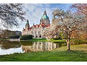 Фотообои «Neus Ганновере rathaus, Новая ратуша»