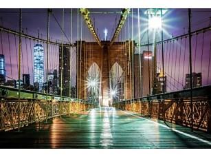Фотообои «Бруклинский мост и на Манхэттен»