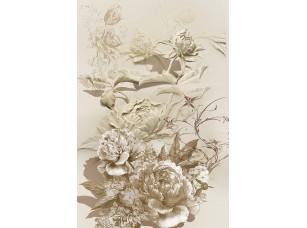 Фотообои «Абстрактные объемные цветы»