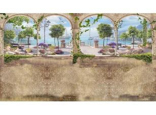 Фотообои «Акри и колонны на набережной»