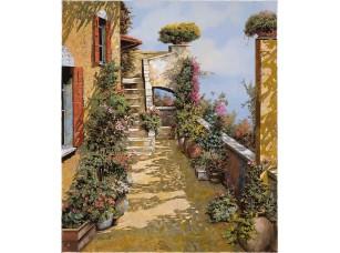 Фотообои «Улочки и дворики Италии.»