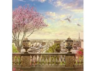 Фотообои «Веранда с видом на Париж»