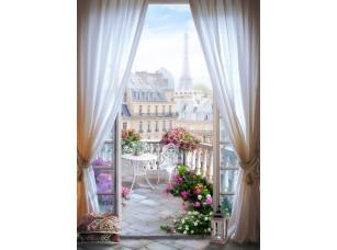 Фотообои «Окно в Париже»