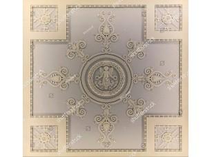 Фотообои «Нежный узор с ангелом в центре»