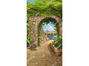 Фотообои «Большая арка в старом городе»