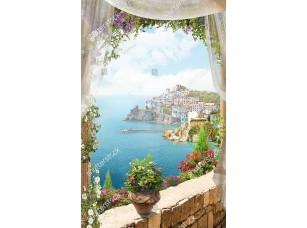 Фотообои «Вид из окна на полуостров»